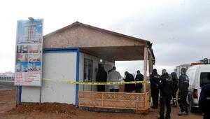 İnşaatın gece bekçisi silahlı saldırıda öldü