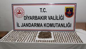 Diyarbakırda 851 sikke ele geçirildi, 7 gözaltı