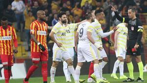 Fenerbahçenin serisi Kayserispor deplasmanında bitti