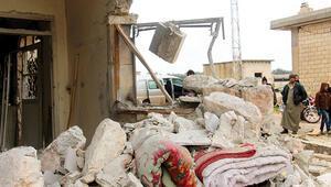 İdlib'de yıkım