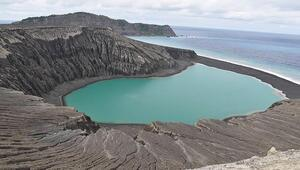 Dünyanın en yeni adasında canlanma belirtisi görüldü