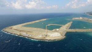 Rize-Artvin Havalimanının yüzde 22si tamamlandı
