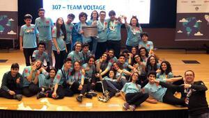Robotik takımlar turnuvada