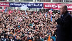 Cumhurbaşkanı Erdoğandan kentsel dönüşüm mesajı: Artık sabrımız taştı...