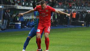 Çaykur Rizespor - Antalyaspor: 1-1