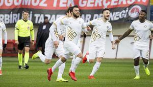 Ankara derbisinde gülen Osmanlıspor