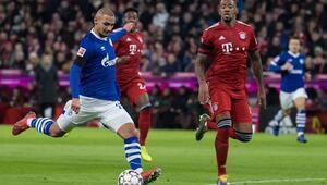 Schalkeye Ahmed Kutucunun golü yetmedi Bayern galip...