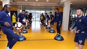 Fenerbahçede Zenit hazırlıkları sürüyor