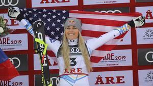 Lindsey Vonn kariyerini bronz madalyayla tamamladı