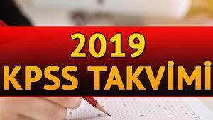 2019 KPSS başvuruları ne zaman başlayacak İşte KPSS sınav ve başvuru tarihleri