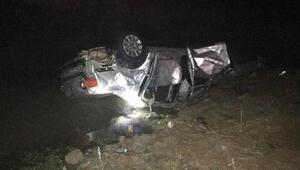 Otomobil nehir kıyısına düştü: 2 ölü, 2 yaralı