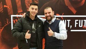 Türk futbolcu Berke Kaplan Milana transfer oluyor