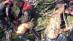 Fethiye'de yakalanmıştı Çıplak saldırganın kim olduğu ortaya çıktı