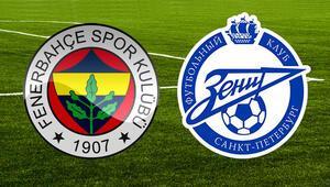 Fenerbahçe Zenit Avrupa Ligi maçı saat kaçta ve hangi kanalda yayınlanacak