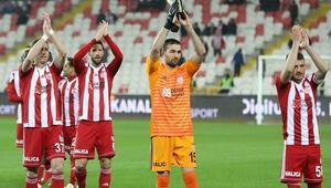 Sivasspor evinde kaybetmiyor 9 maç oldu...