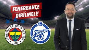Fenerbahçe daha diri olmalı