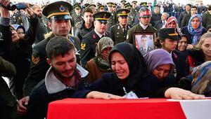 Şehit Astsubay Üstçavuş Yakup Avşar son yolculuğuna uğurlandı