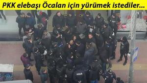 HDPli vekillerin Leyla Güvene destek yürüyüşüne izin verilmedi