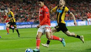 Galatasaray-Benfica maçında onu izleyemeye geliyorlar