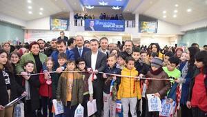 Çan Belediyesi 5inci Kitap Fuarı açıldı