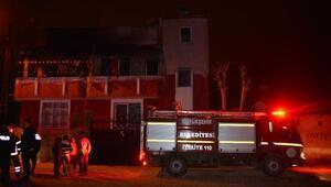 Sobadan çıkan yangında dumandan etkilenen 3 kişi hastaneye kaldırıldı