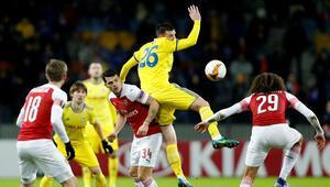 Arsenal, Belarustan çıkamadı