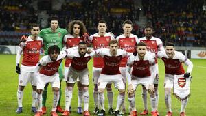 UEFA Avrupa Liginde gecenin sürprizi Arsenalden