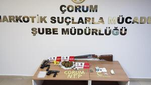 Çorum'daki uyuşturucu operasyonunda 2 kişi daha tutuklandı