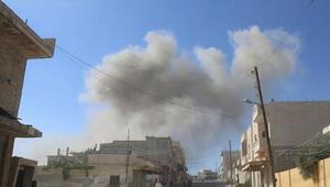 Esed rejiminden İdlibe yoğun saldırılar