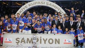 Türkiye Kupasına Efes damgası Tam 11 kez...