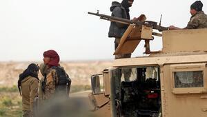 Deyrizorda teslim olan DEAŞlı teröristler ABD üssüne götürüldü