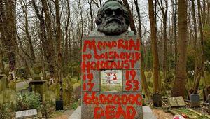Karl Marxın mezarına ikinci saldırı