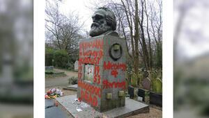 Marx'ın mezarına iki haftada ikinci saldırı