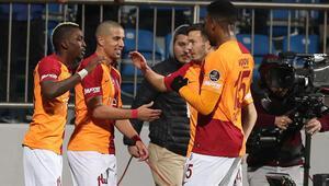 Galatasaray Kasımpaşada Feghouli ile farka koştu Aslan liderin ensesinde