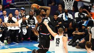 NBA All-Star maçını LeBron Jamesin takımı kazandı