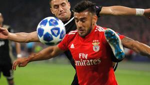 Benficada Salvio şoku 4 hafta yok...
