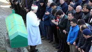 Ukraynada öldürülen TIR şoförü, Boluda toprağa verildi