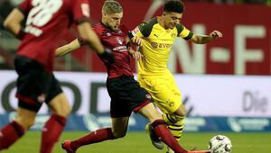 Borussia Dortmund, Nürnbergde puan bıraktı
