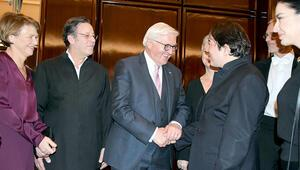 Alman Cumhurbaşkanı ile konser sohbeti