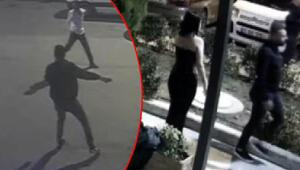 Ataşehirde 2si polis 5 kişinin yaralandığı gece kulübü saldırısı kamerada
