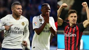 Yeni nesil golcüler takımlarını sırtlıyor Mbappe, Piatek, Vinicius...