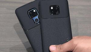 Huawei Mate 20 Pro için Spigenden zırh gibi kılıf