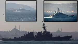 Karadeniz yarışı... ABD ve Rus gemileri harekete geçti