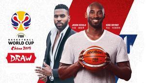 Kobe Bryant ve Jason Derulo FIBA Dünya Kupası kura çekiminde bir araya gelecek