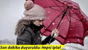 Bünyamin Sürmeli açıkladı: İstanbulda kar yağışı…