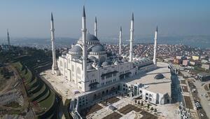 Çamlıca Camisinin açılmasına sayılı günler kaldı