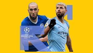 Manchester City 5 eksikle Almanyaya gitti Galibiyetine iddaada...
