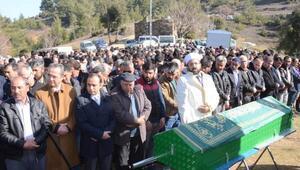 Milastaki işçinin cenazesine 3 bin kişi katıldı