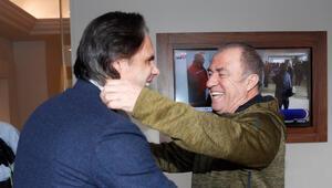 Nuno Gomes, Galatasaray kampını ziyaret etti.