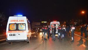 Alkollü sürücü, kamyonet ile polise ve bir vatandaşa çarpıp kaçtı